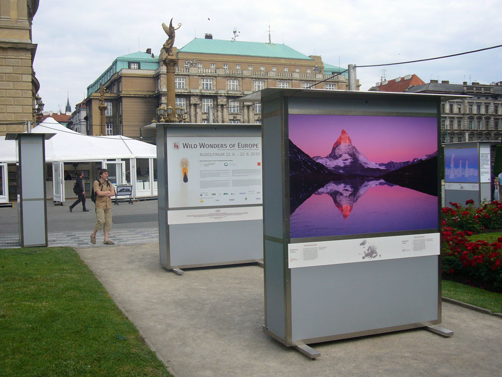 Wild Wonders of Europe exhibition in Prague