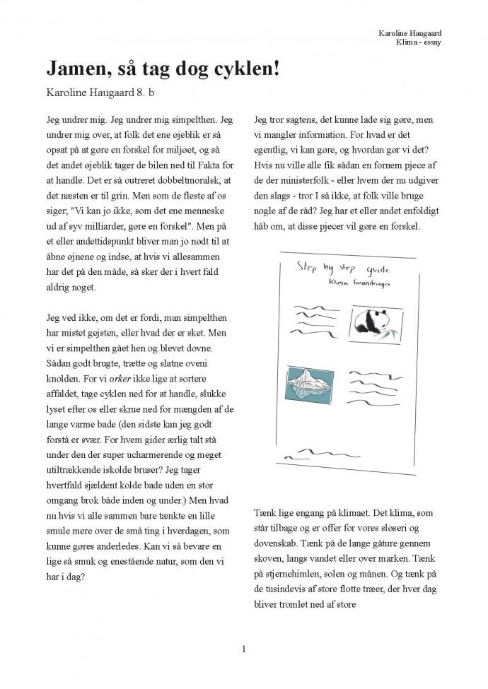 hvordan skriver man et engelsk essay Hvordan skriver man et essay i engelsk f lles i faget engelsk p stx for b de a- og b niveau er det akademiske essay i sagprosaopgaven p stx b skal sp rgsm lene dog besvares separat, som det ogs fremg r af opgaveformuleringen.