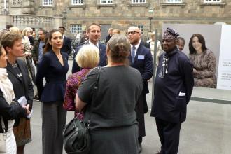 Unge Mødre Udstilling på Christiansborg